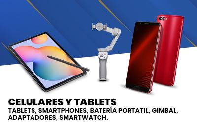 Celulares y tablets