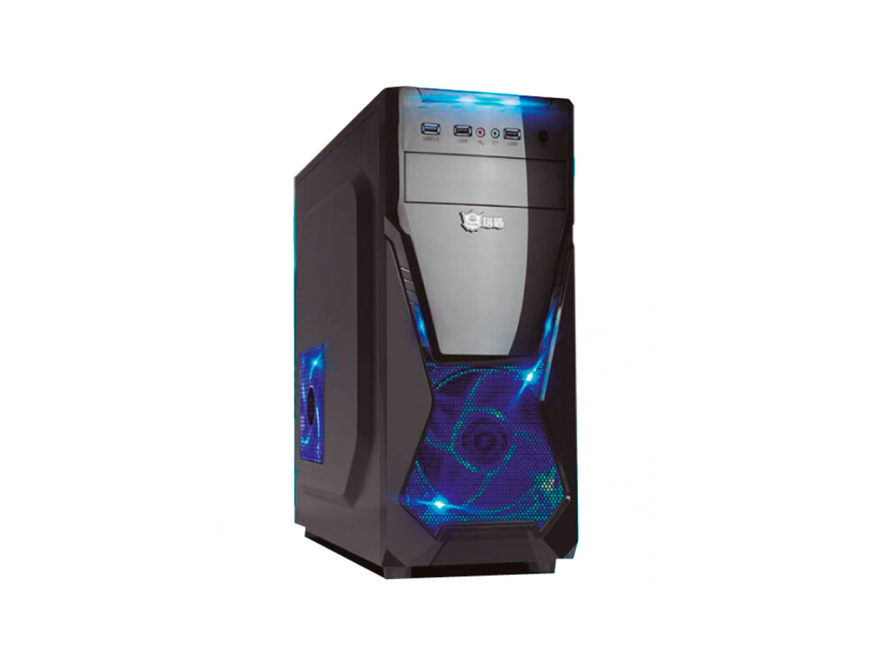 CASE AVATEC GAMING STYLE ( CCA-3229B ) 350W | NEGRO