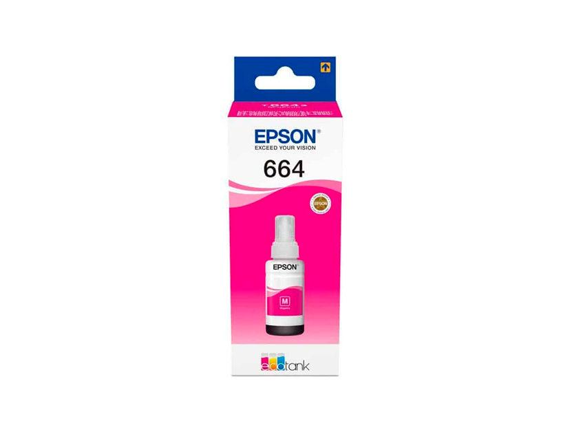 TINTA EPSON  T664320 MAGENTA ( C13T66432A ) L210 / L355 / L555 +