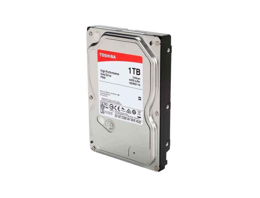 HDD  TOSHIBA 1TB ( HDWD110UZSVA ) 64MB | 7200RPM