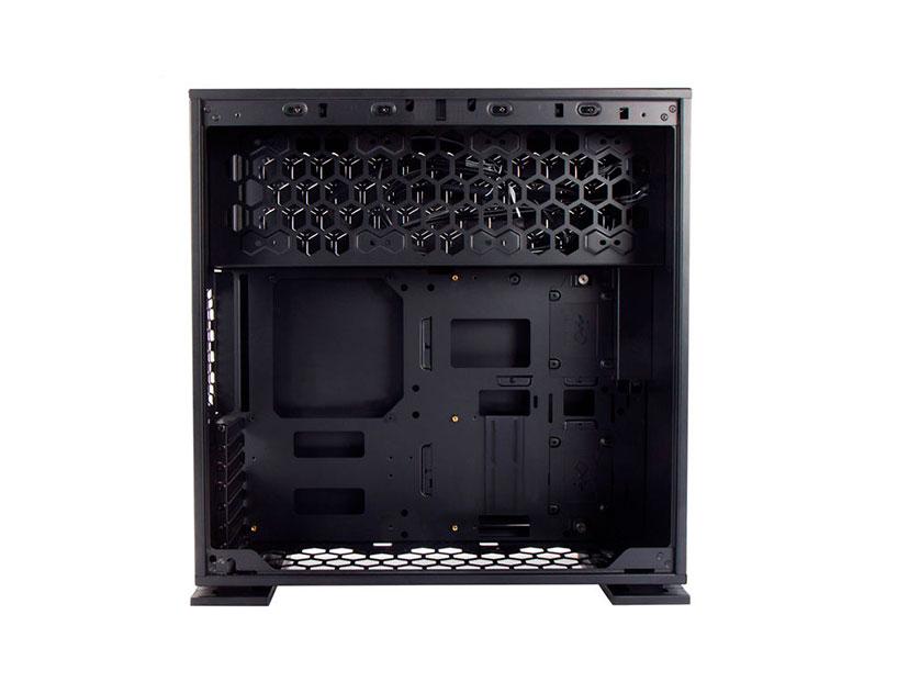 CASE IN WIN 305 ( 305 BLACK ) S/ FUENTE | NEGRO | 1 PANEL VIDRIO
