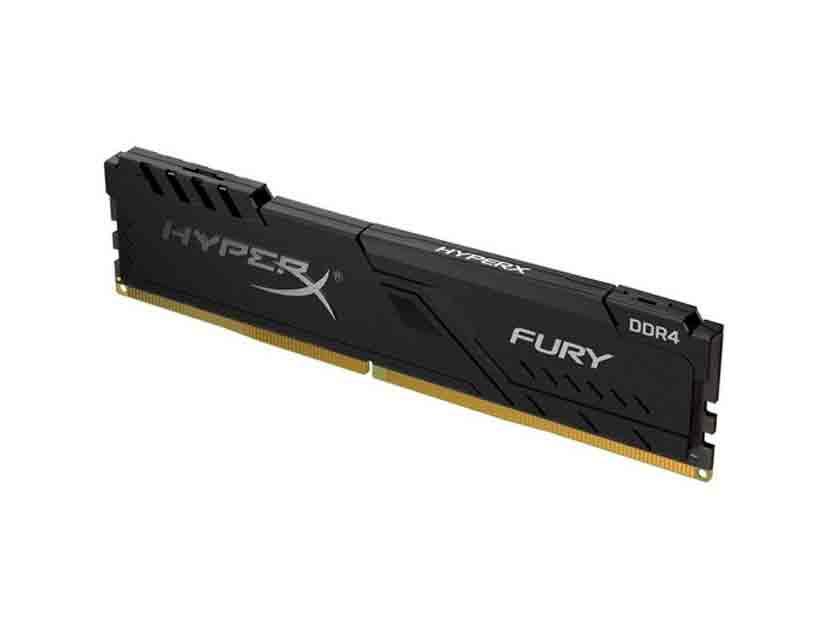 MEM. RAM HYPERX FURY DDR4 16GB/3466 ( HX434C17FB4/16 ) NEGRO