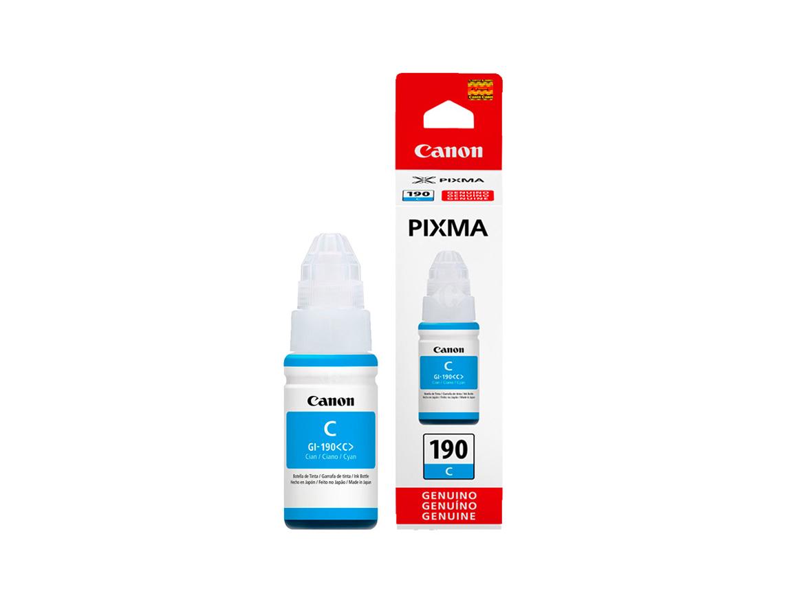 TINTA CANON 190 GI-190C CIAN ( 0668C001AA ) G1100 / G2100 / G3100 + | 70.0 ML