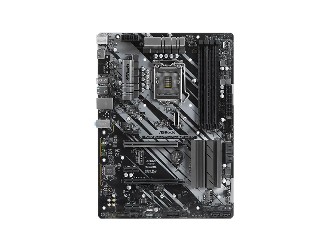 MB ASROCK Z490 PHANTOM GAMING 4/2.5G ( 90-MXBCX0-A0UAYZ ) LGA 1200