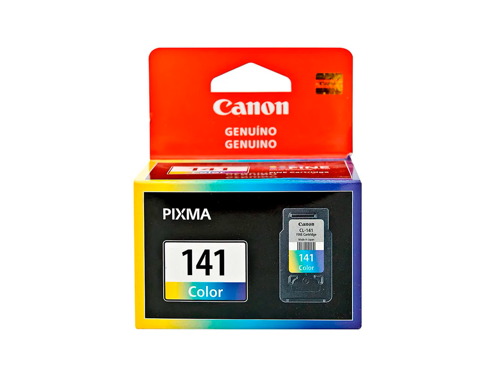 CARTUCHO CANON  141 ( 5203B012AA ) COLOR - MG2110 / MG3110 / MG3510 + / + PACK 10 HOJAS FOTOGRAFICOS