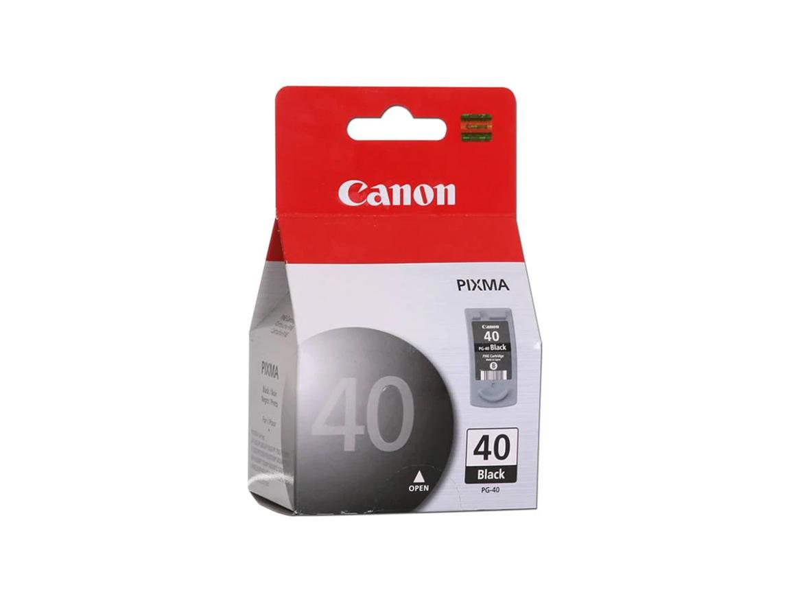 CARTUCHO CANON 40 ( 0615B050AA ) NEGRO - IP1200 / MP140 / MX300