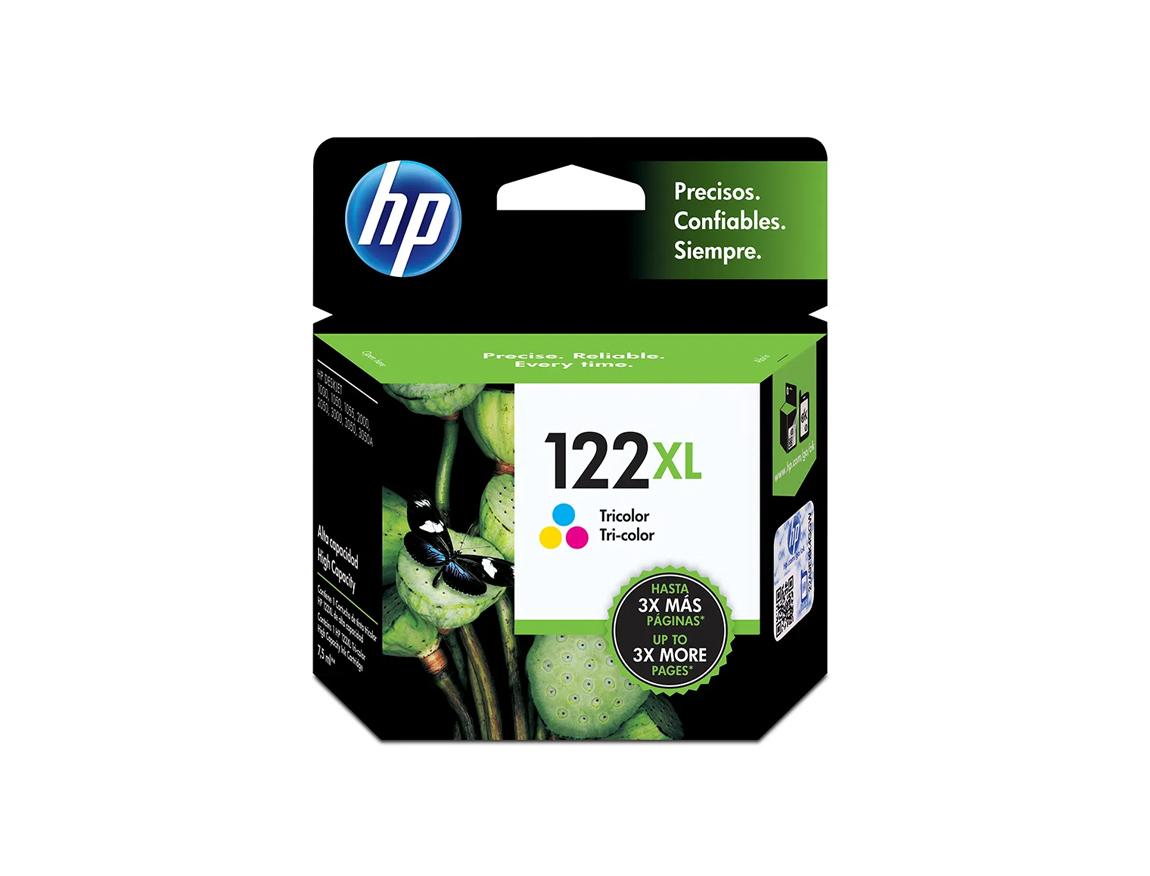 CARTUCHO HP 122XL ( CH564HL ) TRICOLOR - 1000 / 2050 / 3000 +