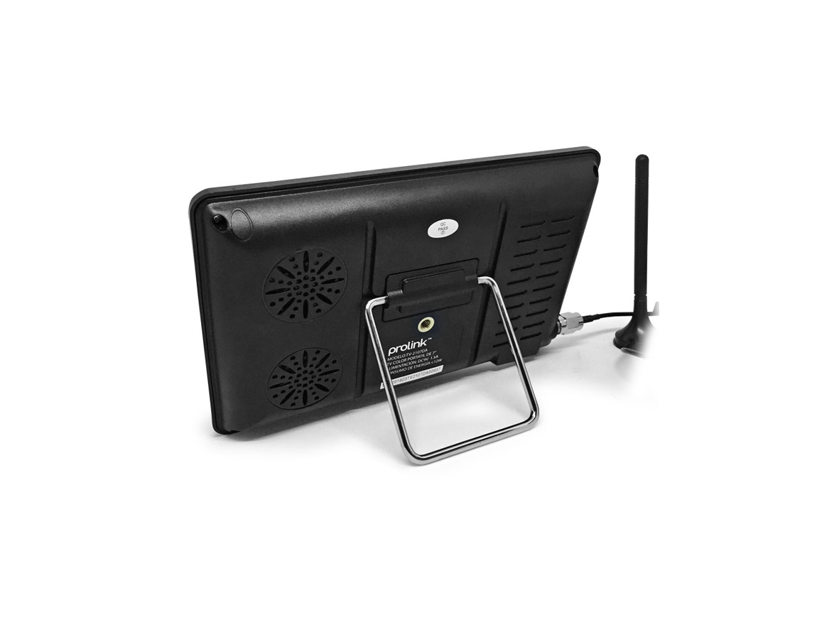 "TELEVISOR PORTABLE PROLINK ( TV-2107DA ) 7"" | NEGRO | 1000MAH | USB+SD & CONTROL"