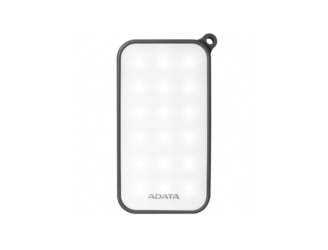 BATERIA PORTABLE POWER BANK ADATA D8000L ( AD8000L-3K-5V-CBK ) NEGRO   8000MAH   LED- BLANCA