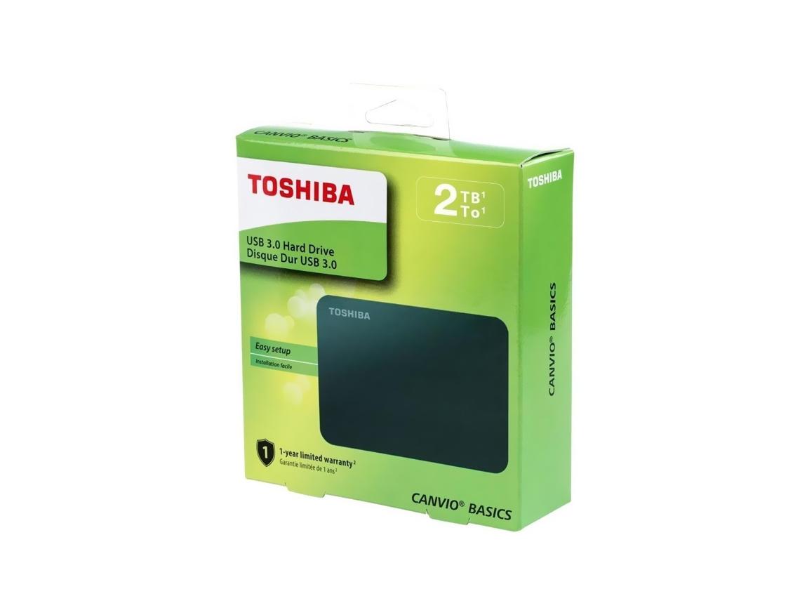 HDD  EXTERNO TOSHIBA 2TB ( HDTB420XK3AA ) CANVIO BASICS