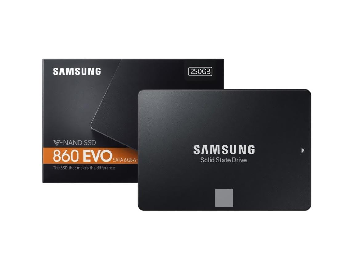 SSD SOLIDO SAMSUNG 250GB ( MZ-76E250E ) 860 EVO