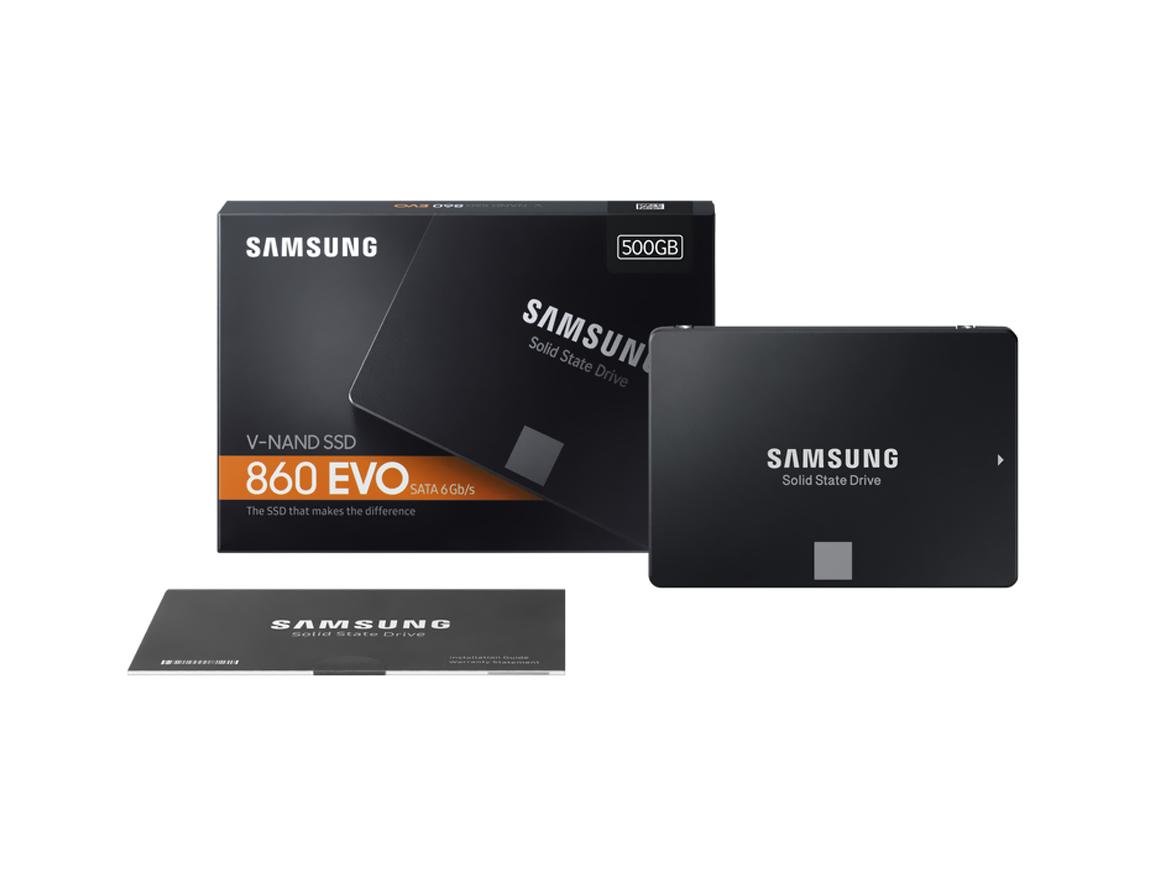 SSD SOLIDO SAMSUNG 500GB ( MZ-76E500E ) 860 EVO
