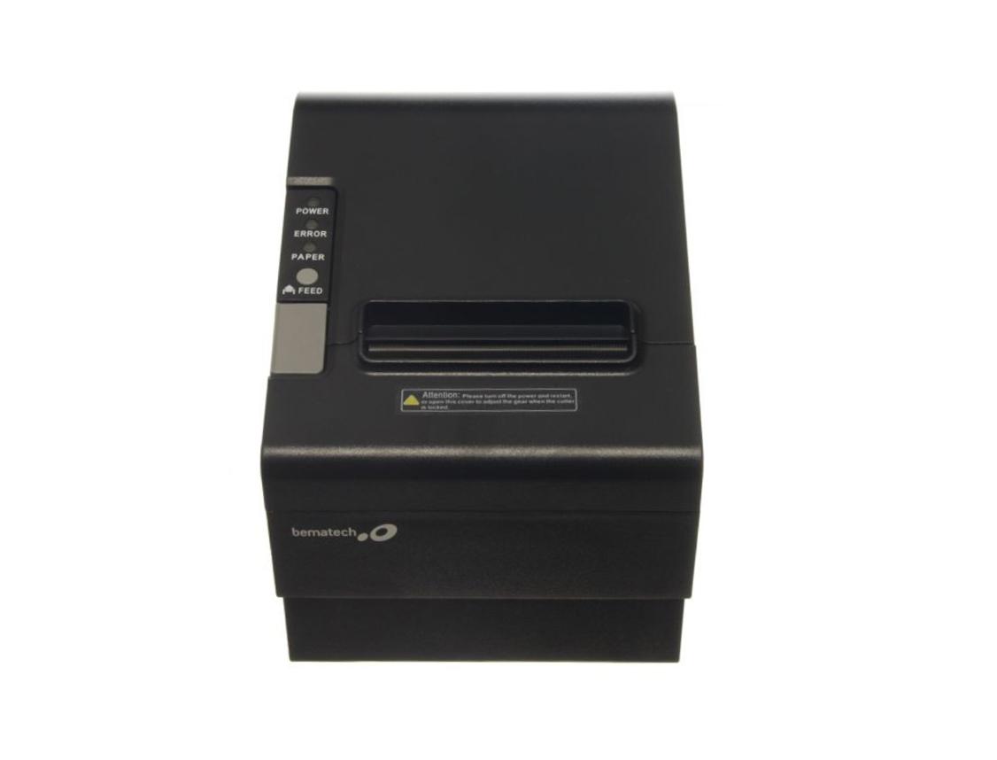 IMPRESORA MINI TERMICA BEMATECH LR 2000 ( 811080 ) IMPRIME - TICKETS   NEGRO   U
