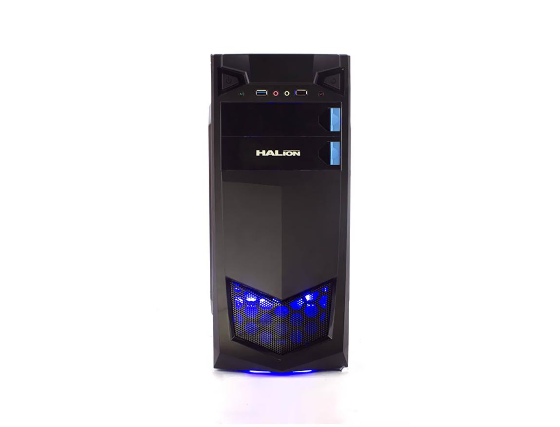 CASE HALION STORM ( 7223 BLUE ) 350W   NEGRO   LED- AZUL