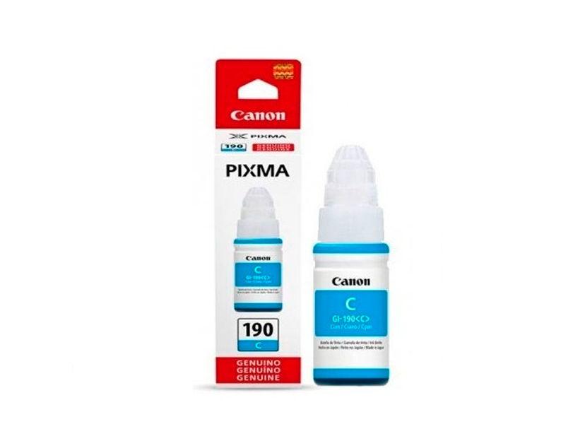 TINTA CANON 190 GI-190C CIAN ( 0668C001AB ) G1100 / G2100 / G3100 +   70.0 ML