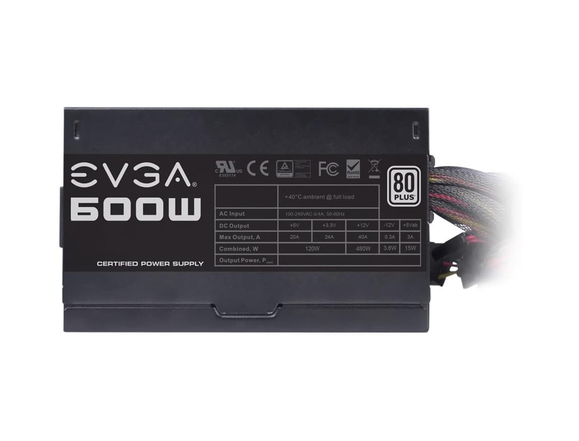 FUENTE EVGA ( 100-W1-0600-K1 ) 600W