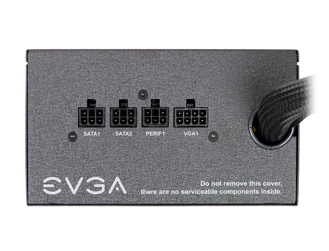 FUENTE EVGA 600 BQ ( 110-BQ-0600-K1 ) 600W   BRONZE   SEMI-MODULAR