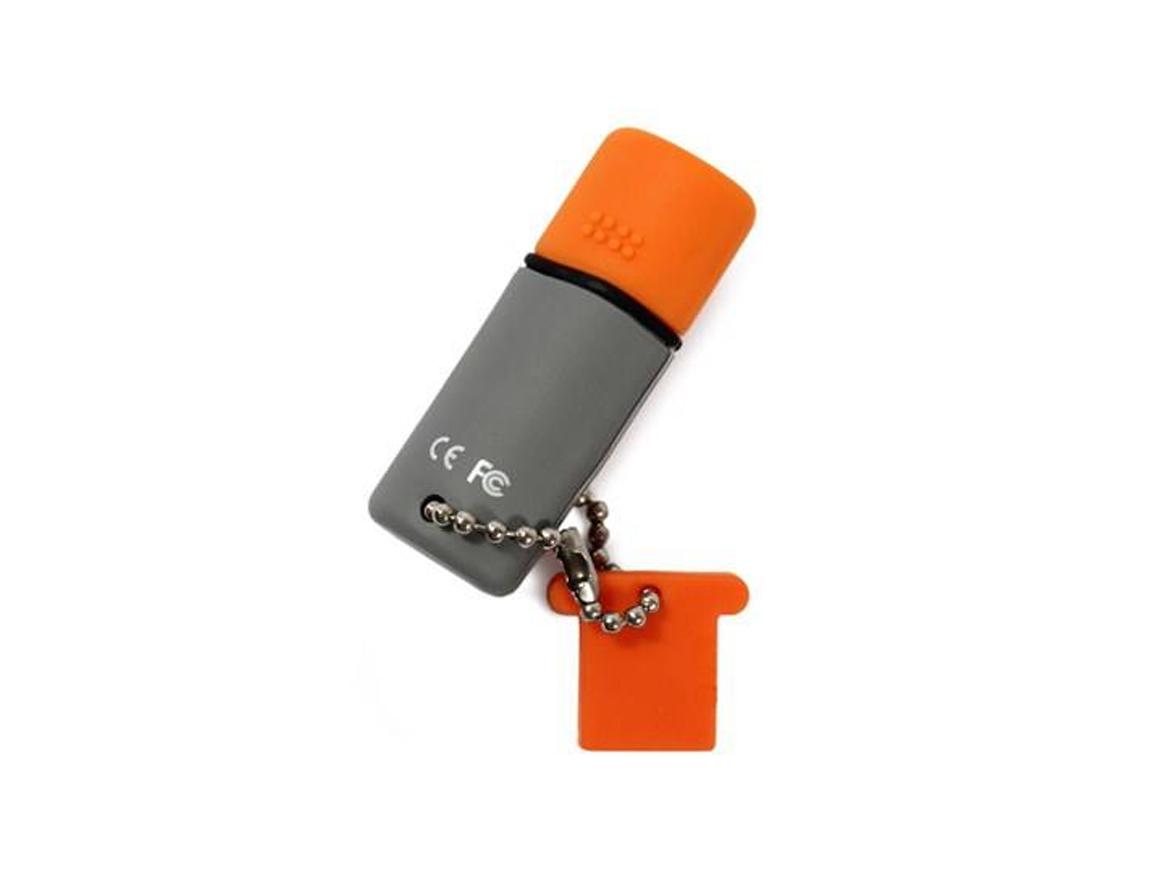 MEM. USB HP V245O 64GB ( HPFD245O-64 ) NARANJA C/ GRIS