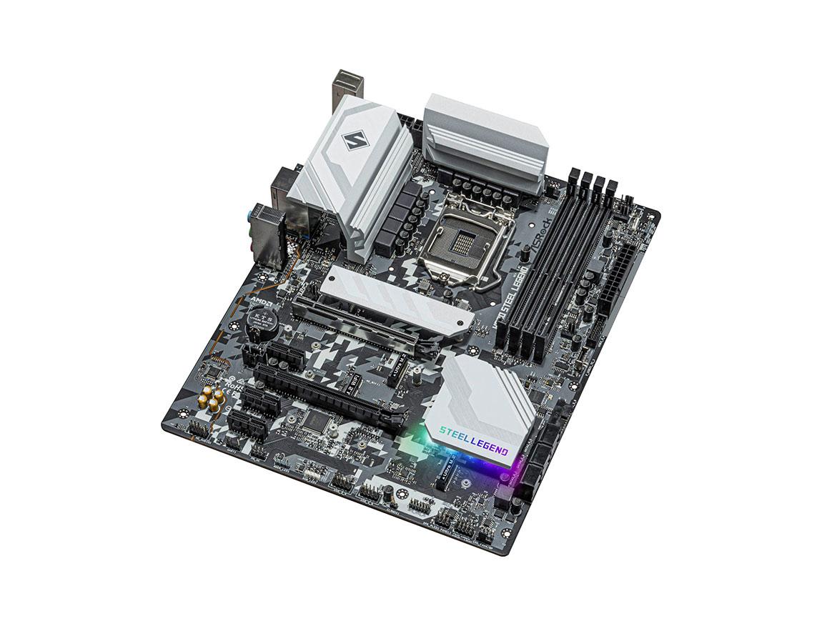 MB ASROCK H570 STEEL LEGEND ( 90-MXBFY0-A0UAYZ ) LGA 1200   LED - RGB