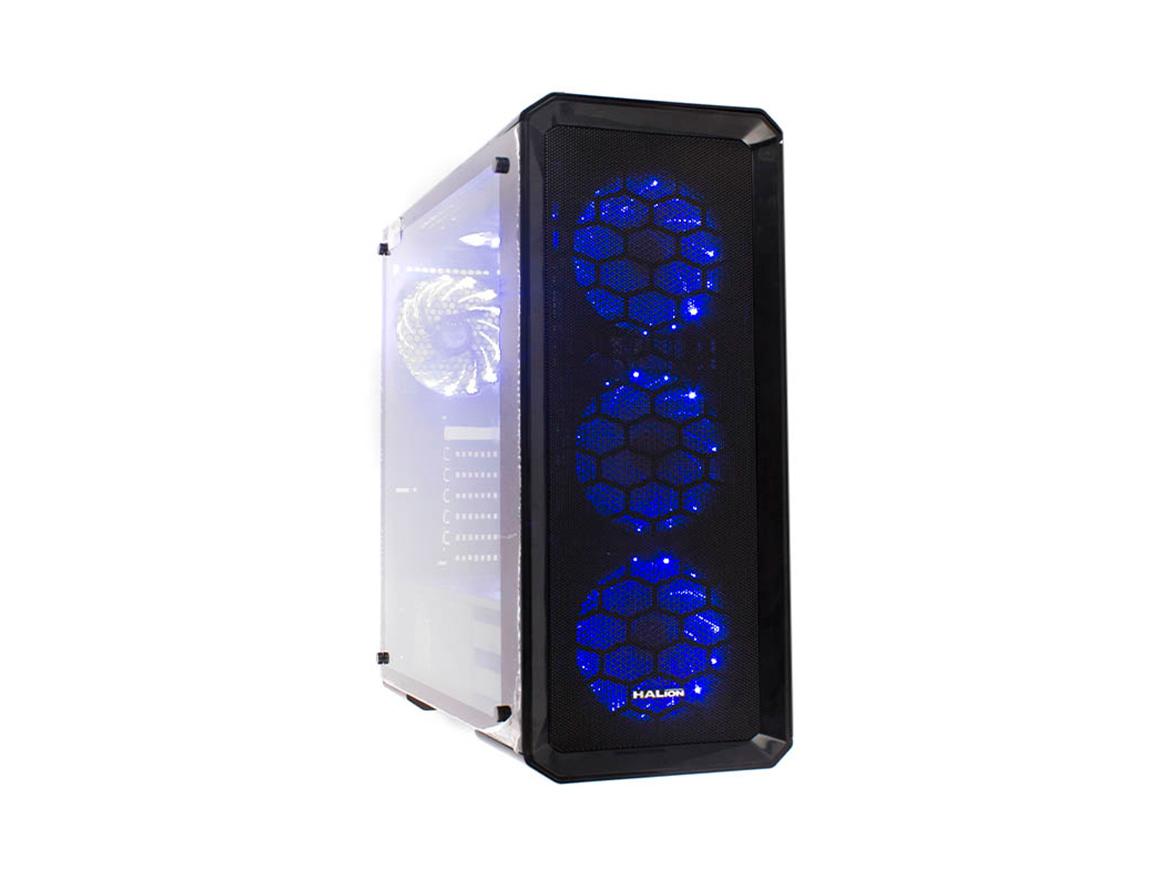 CASE HALION HALUX ( HALUX C951 ) 1 PANEL VIDRIO | 4 LED