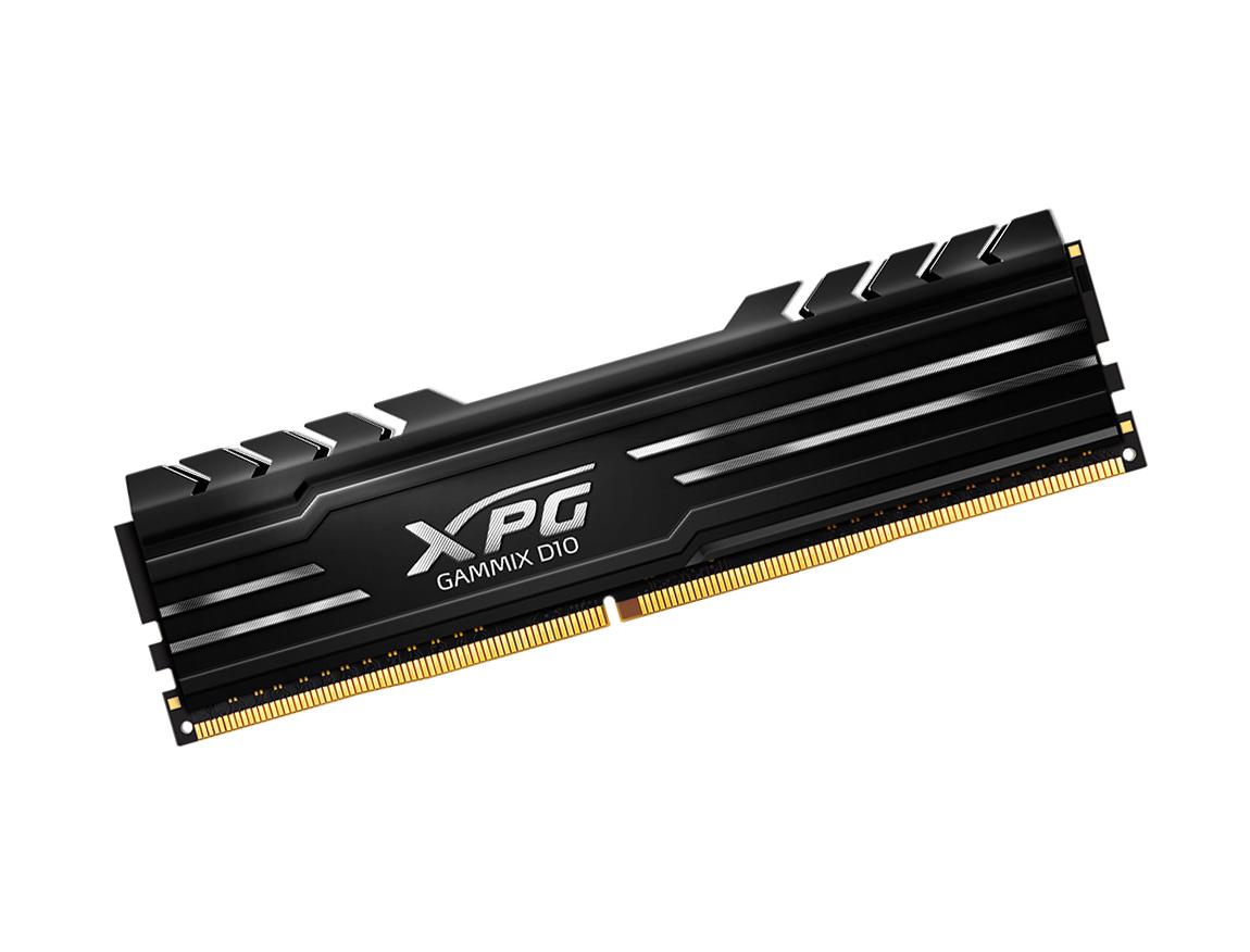 MEM. RAM ADATA XPG GAMMIX D10 DDR4 16GB(2X8)/3000 ( AX4U300088G16A-DB10 ) NEGRO
