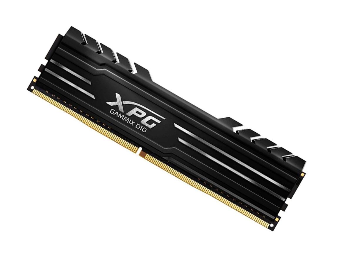 MEM. RAM ADATA XPG GAMMIX D10 DDR4 8GB/3200 ( AX4U320088G16A-SB10 ) NEGRO