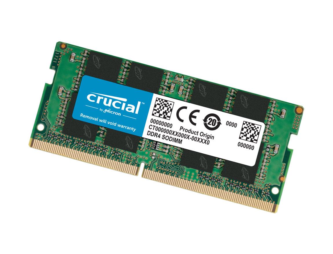 MEM. SODIMM CRUCIAL DDR4 8GB/3200 ( CT8G4SFRA32A )