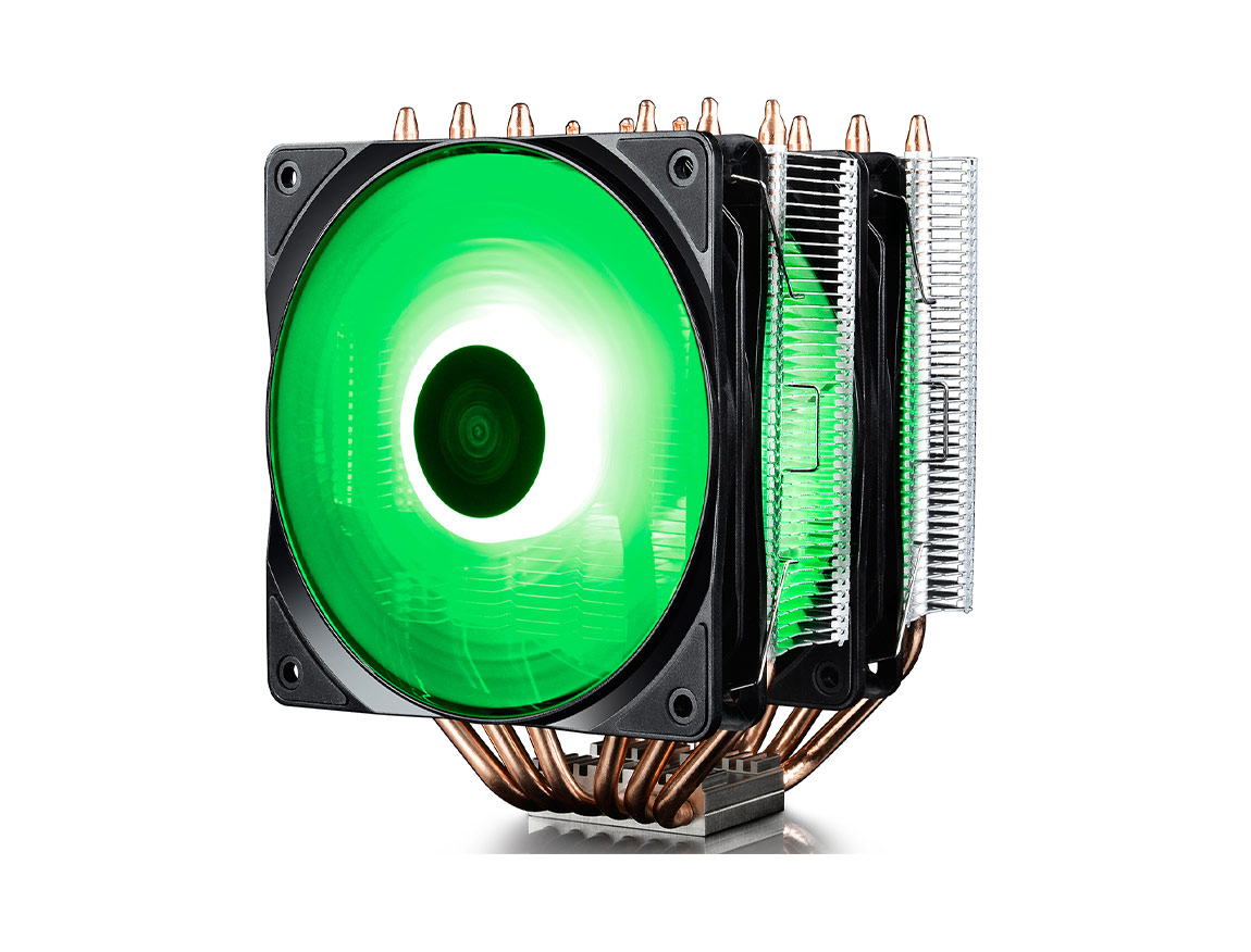 COOLER PROC. DEEP COOL NEPTWIN RGB ( DP-MCH6-NT-A4RGB ) LED - RGB