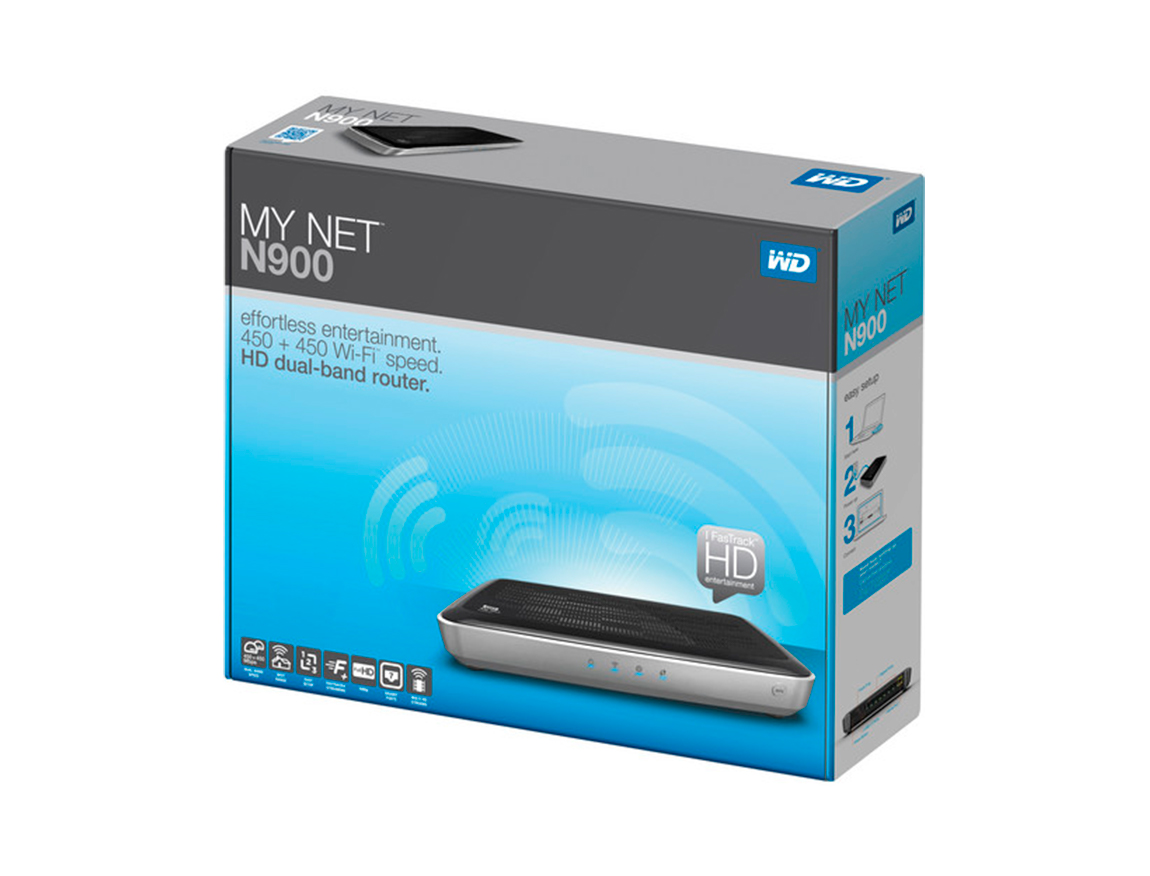 ROUTER INALAMBRICO WESTERN DIGITAL MY NET N900 ( WDBWVK0000NSL-00 ) 900MBPS