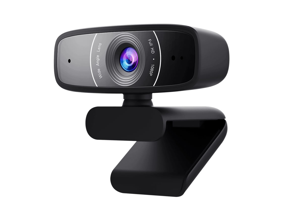 CAMARA WEB ASUS WEBCAM C3 ( 90YH0340-B2UA00 ) 1080P HD | 30 FPS