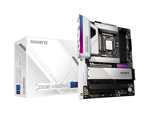 MB GIGABYTE Z590 VISION G ( Z590 VISION G ) LGA 1200 | LED - RGB