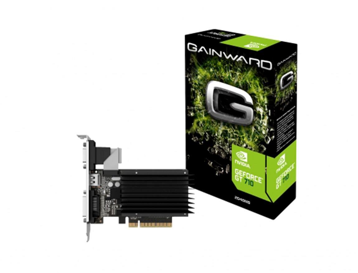 TARJ. VIDEO GAINWARD GEFORCE GT 710 2GB DDR3 ( 426018336-3576 ) | LP-BD | 64 BIT