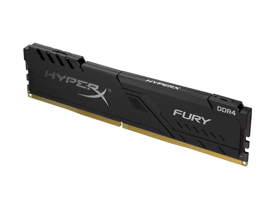 MEM. RAM HYPERX FURY DDR4 8GB/3600 ( HX436C17FB3/8 ) NEGRO