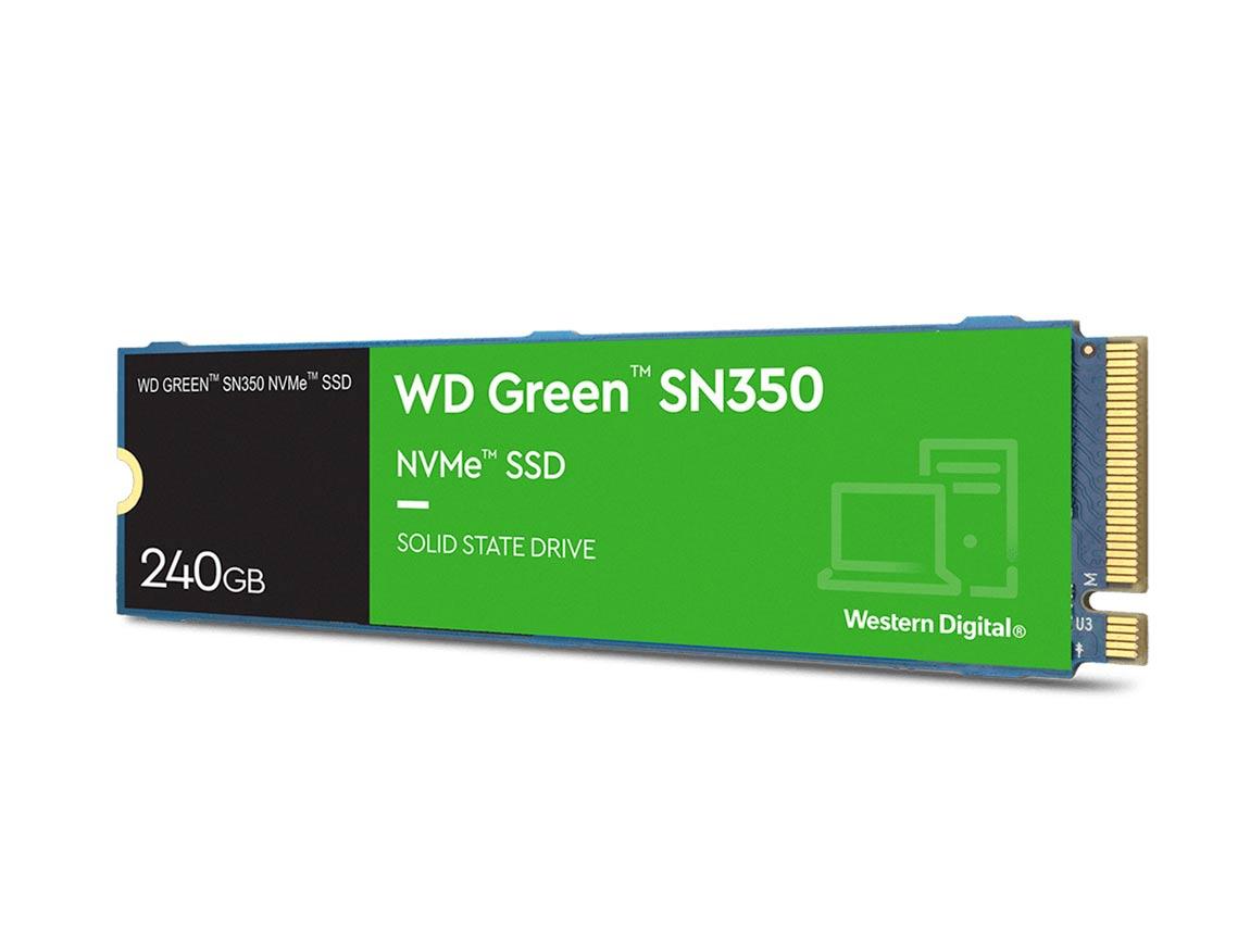SSD M.2 SOLIDO WESTER DIGITAL 2280 240GB ( WDS240G2G0C ) SN350 | VERDE | NVME