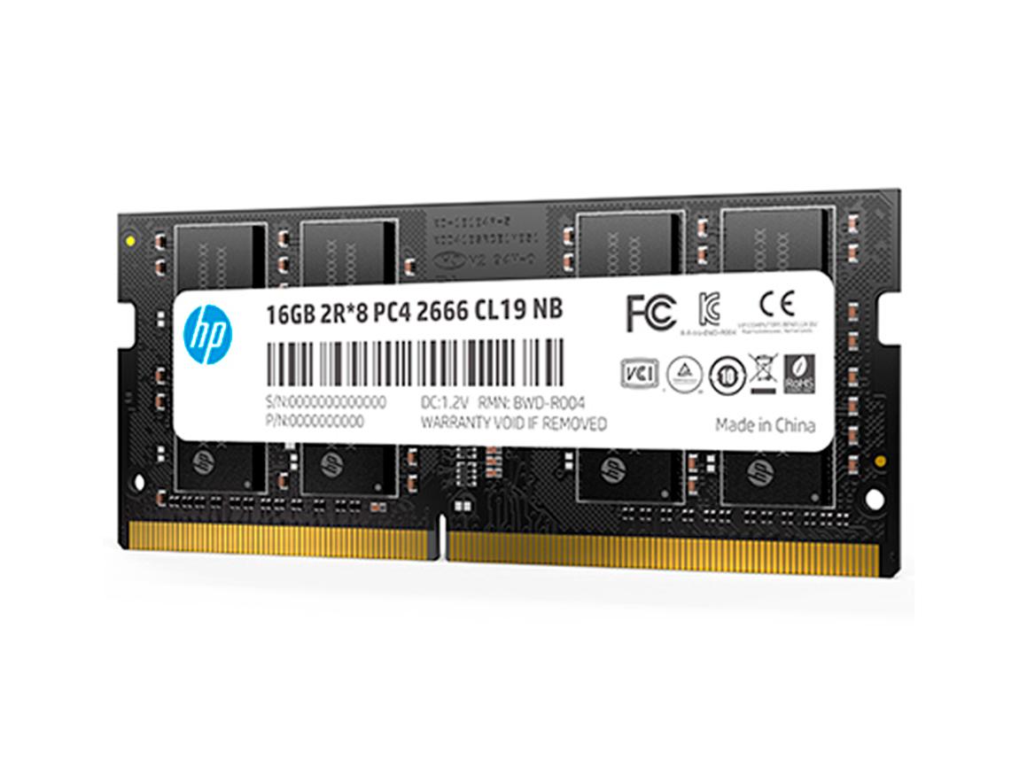 MEM. SODIMM HP DDR4 16GB/2666 ( 7EH99AA#ABM )