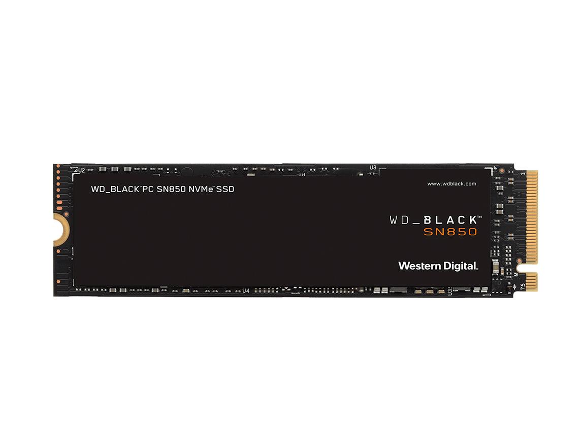 SSD M.2 SOLIDO WESTER DIGITAL SN850 2280 1TB ( WDS100T1X0E-00AFY0 ) NEGRO | NVME | GEN4