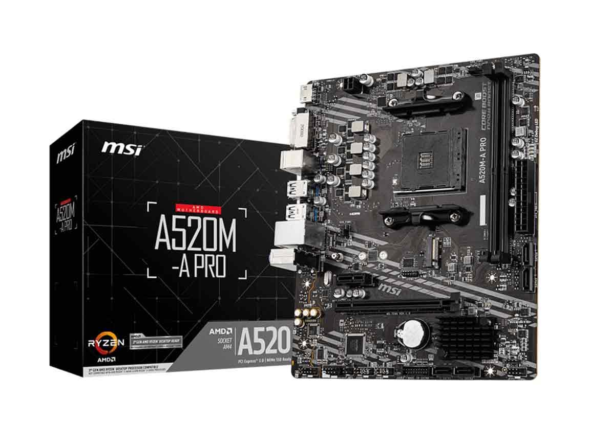 MB MSI A520M-A PRO ( A520M-A PRO ) AM4