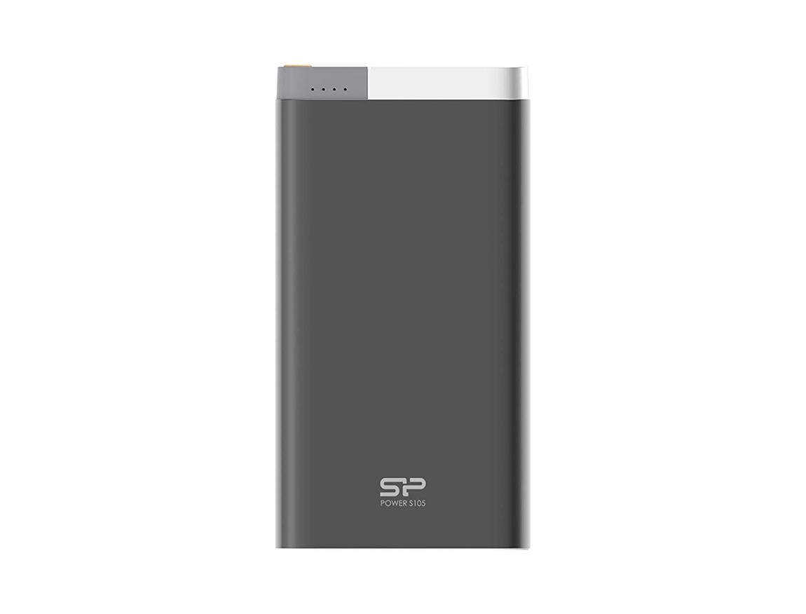 BATERIA PORTABLE POWER BANK SILICON POWER ( SP10KMAPBK105P0K ) METALICA BLACK | 10000MAH |