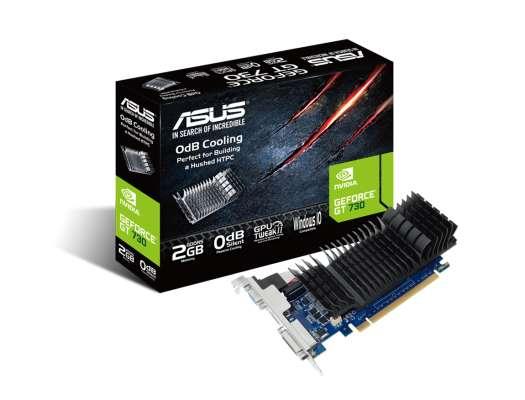 TARJ. VIDEO ASUS GEFORCE GT 730 2GB DDR5 ( GT730-SL-2GD5-BRK ) 64 BIT