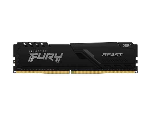 MEM. RAM KINGSTON FURY BEAST DDR4 16GB/3200 ( KF432C16BB1/16 ) NEGRO