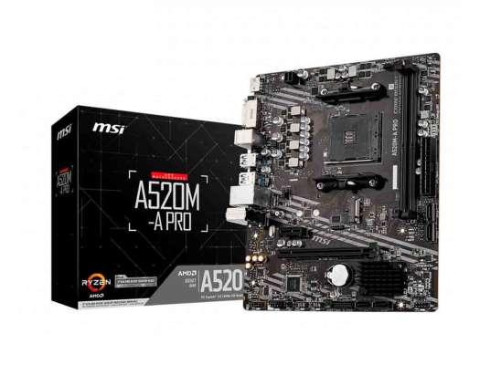 MB MSI A520M-A PRO ( A520M-A PRO ) | AM4