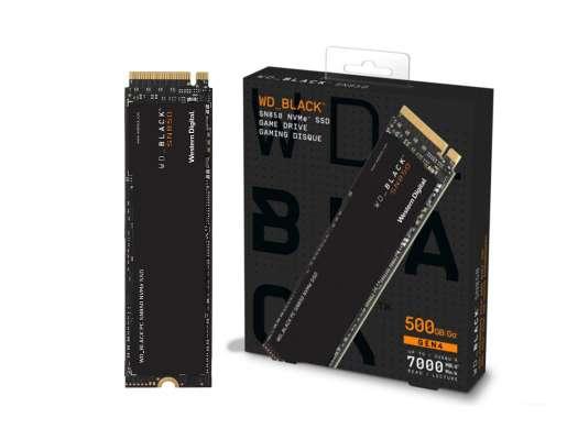 SSD M.2 SOLIDO WESTER DIGITAL SN850 2280 500GB ( WDS500G1X0E-00AFY0  ) NEGRO | NVME | GEN4