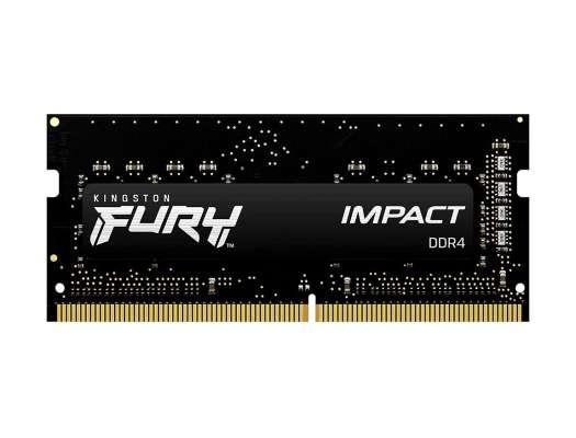MEM. SODIMM KINGSTON FURY IMPACT DDR4 16GB/3200 ( KF432S20IB/16 )