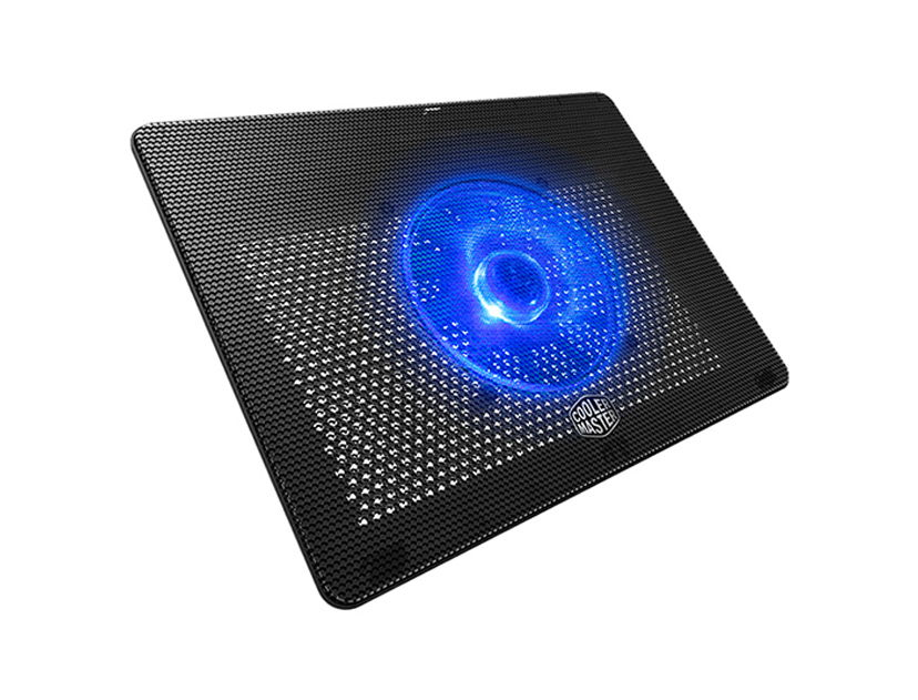 COOLER PARA LAPTOP COOLER MASTER NOTEPAL L2 ( MNW-SWTS-14FN-R1 ) NEGRO | LED- AZUL | P/ 15.6""