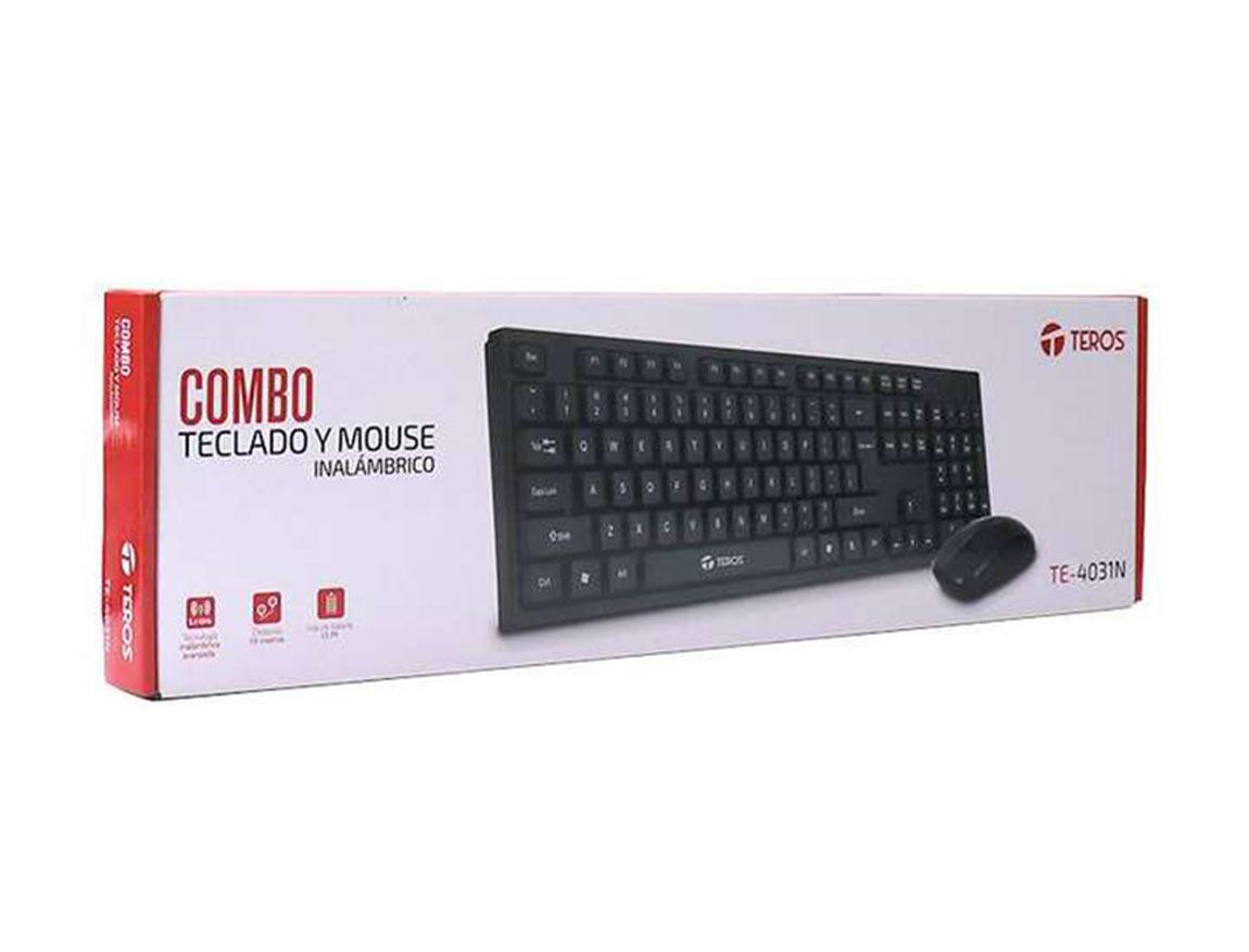 COMBO INALAMBRICO TEROS TE-4031N ( TE-4031N ) TECLADO+MOUSE