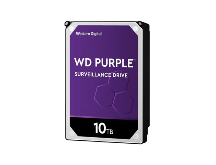 HDD  WESTERN DIGITAL 10TB ( WD102PURZ ) PURPURA | 256MB | 7200RPM