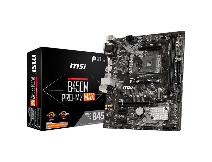 MB MSI B450M PRO-M2 MAX ( B450M PRO-M2 MAX ) AM4
