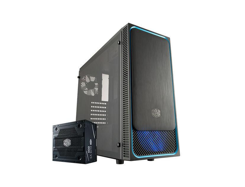 CASE COOLER MASTER MASTERBOX E500L ( MCB-E500L-KA5A60-S01 ) 600W | NEGRO