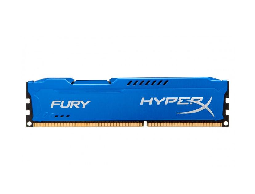 MEM. RAM HYPERX FURY DDR3 8GB/1600 ( HX316C10F/8 ) AZUL