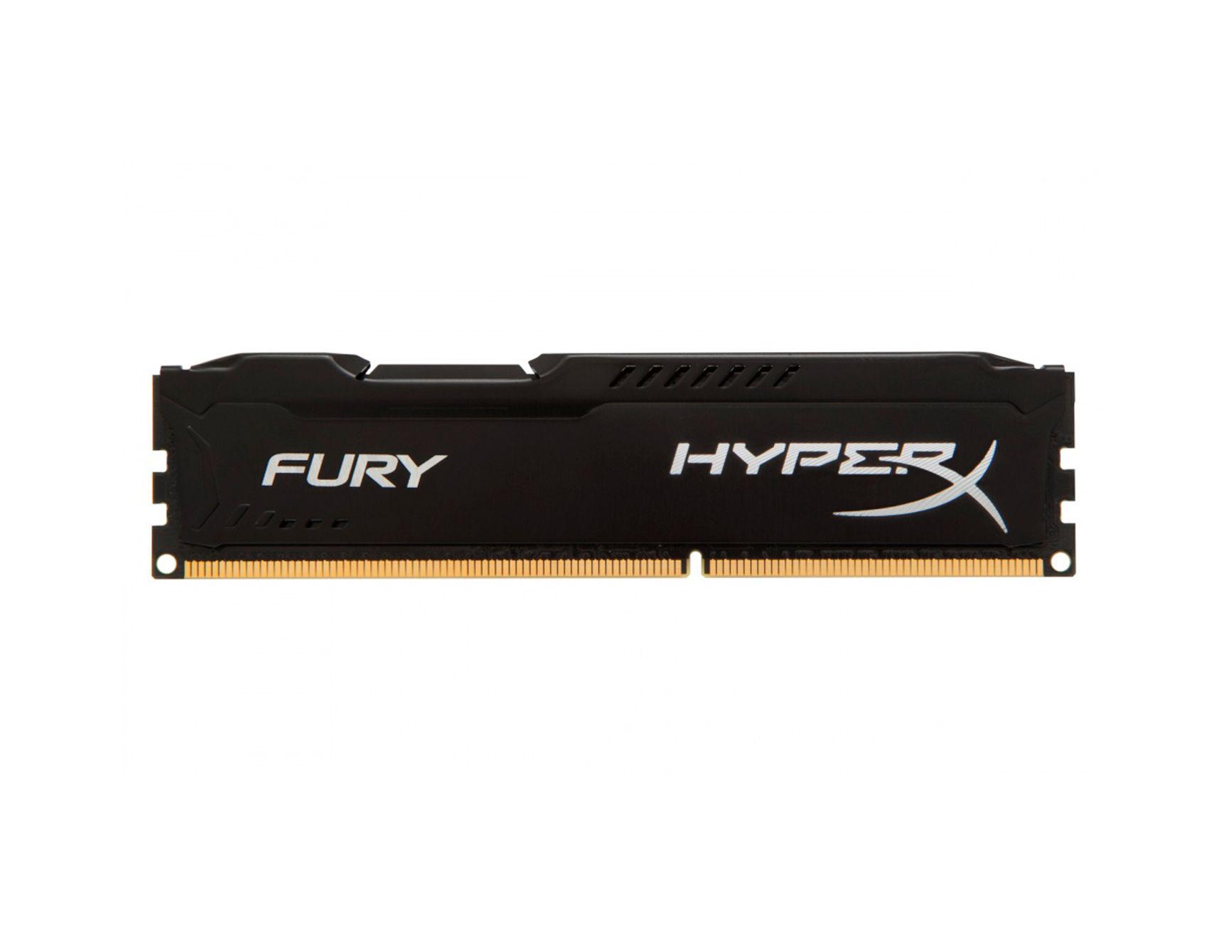 MEM. RAM HYPERX FURY DDR3 8GB/1600 ( HX316C10FB/8 ) NEGRO